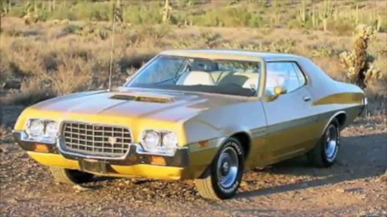 1972 ford gran torino formal roof edition hd youtube