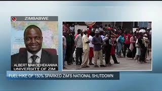 Zimbabwe shutdown intensifies on day two