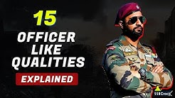 What are 15 Officer Like Qualities (OLQs) - 15 Officer Like Qualities क्या होती है