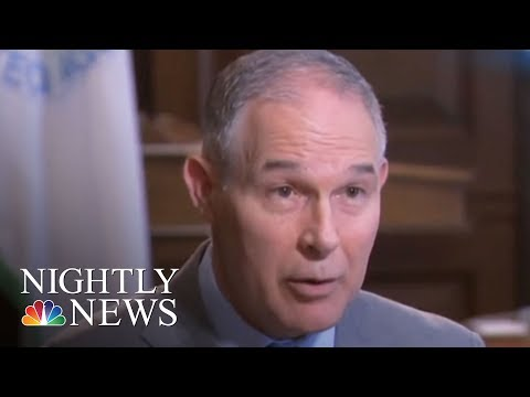 EPA Head Scott Pruitt Faces Growing Ethics Controversy | NBC Nightly News