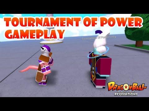 [DragonBallOnlineRevelations]-TOURNAMENT OF POWER GAMEPLAY!!