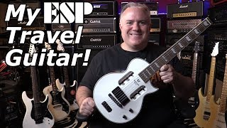 Headless ESP Guitar for Rockers!  Perfect for Holiday / Travel / Vacation! By Traveler.