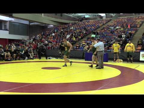2015 Canada West Championships: 90 kg Sean Belisle vs. Emery Wilson