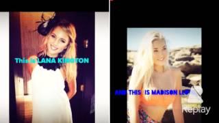 Happy Birthday Madison Lloyd & Lana Kington