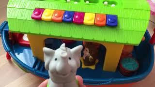 Ноев ковчег Kiddieland. Интерактивный корабль с животными для малышей