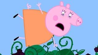 Peppa Pig Nederlands Compilatie Nieuwe Afleveringen 💛 De Braamstruik | Tekenfilm | Peppa de Big