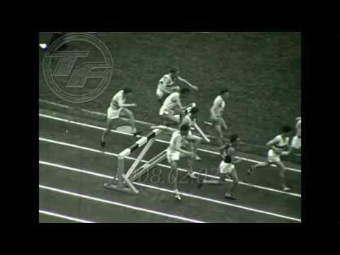 HELSINKI 1952 [HORACE ASHENFELTER ] 3000m Steeplechase AMATEUR  FOOTAGE