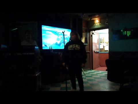 Me singing Jingle Bell Rock at karaoke, Sunday December 14, 2014