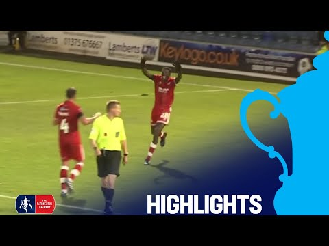 Southend United 1-1 Crawley Town | Round 1 | Emirates FA Cup 2018/19