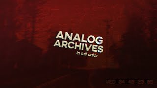 Analog Archives - Travel Guide