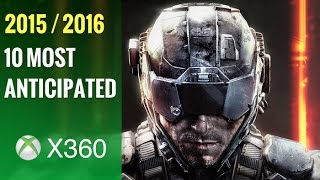Top 10 Most Anticipated Upcoming Xbox 360 Games of 2015 - 2016 HD(Showcasing the 10 highly-anticipated Xbox 360 video games coming soon to the console in the second half of 2015 and the year 2016. These are the X360 ..., 2015-06-26T03:45:31.000Z)