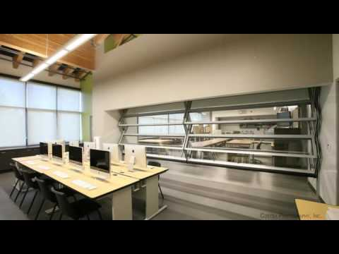Mirage Retractable Folding Glass Wall System by Skyfold & Mirage Retractable Folding Glass Wall System by Skyfold - YouTube