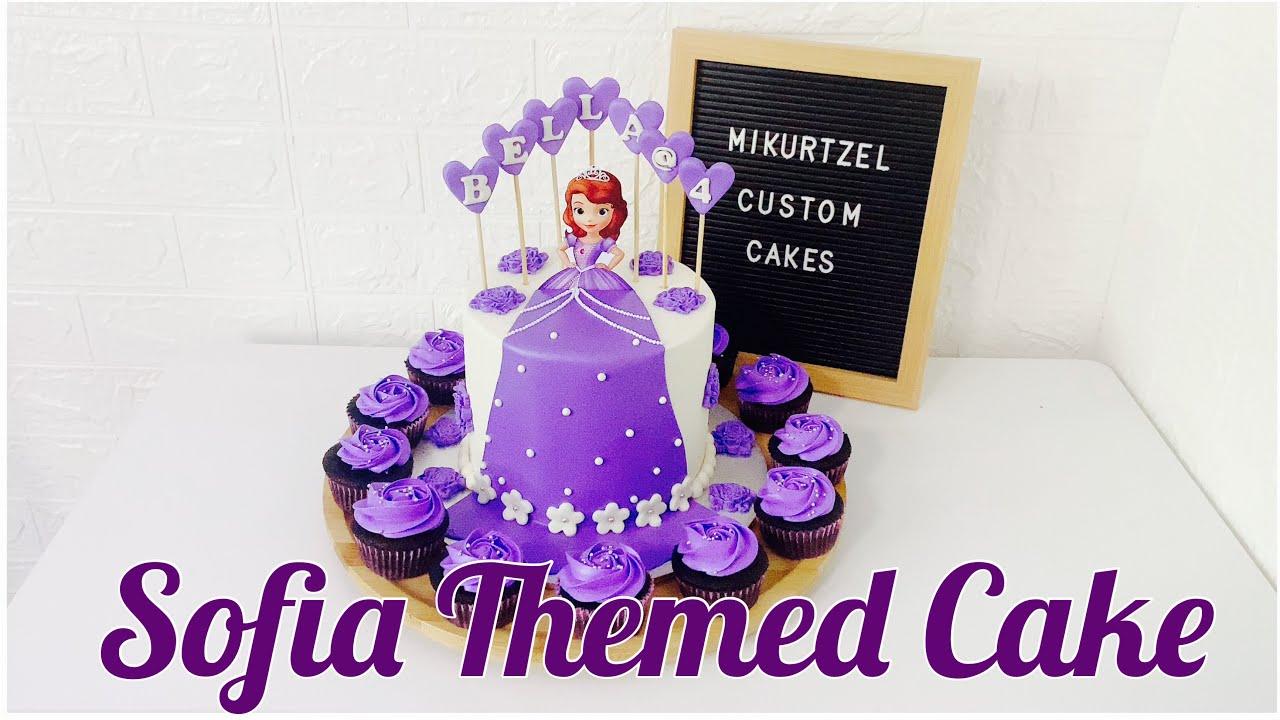 Download PRINCESS SOFIA CAKE | SOFIA THE FIRST CAKE | PRINCESS SOFIA FONDANT CAKE | Mikurtzel TV