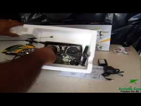 Helicopter WLToys V912 Fixed Pitch Español