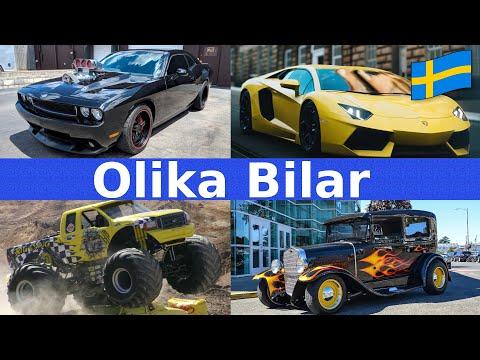 Download Olika Bilar | Namn & Ljud | Fordon För Barn | Svenska