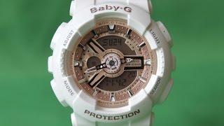 BABY-G BA-110-7A1 | Огляд і настройка (російською) | Купити зі знижкою
