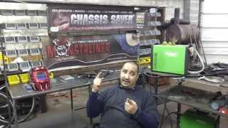Video Blog Part 1 - My Thoughts On Metal Work Bench (4/26/13)