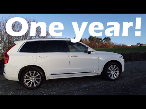 2016 Volvo XC90 One Year Review, and 37000 miles!