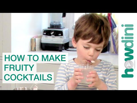 Fun Kids Recipes: How To Make Fruity Cocktails