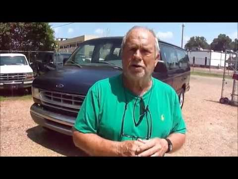 1998 Ford E 350 15 Passenger Van Video Test Drive