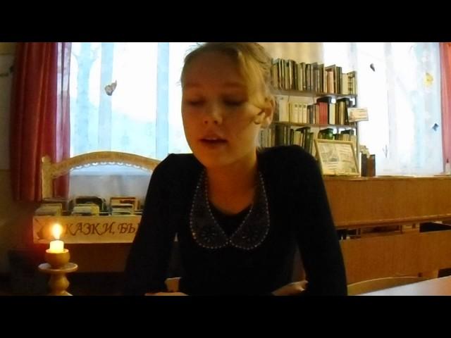 Изображение предпросмотра прочтения – ЕкатеринаПетухова читает произведение «Романс» А.С.Пушкина