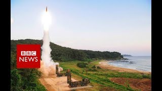 North Korea preparing more missile launches, says South - BBC News thumbnail