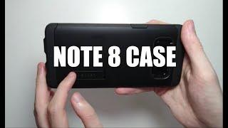 Samsung Galaxy Note 8 Case Spigen Tough Armor Review (Amazon)