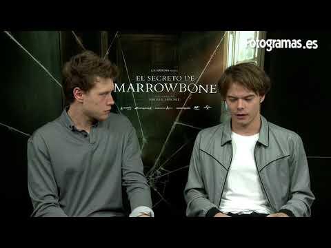 'EL SECRETO DE MARROWBONE': Entrevistas a George MacKay y Charlie Heaton