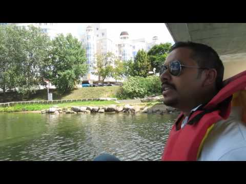 Pedal boating along the Svislach River, Minsk - Episode 11 Ch 2