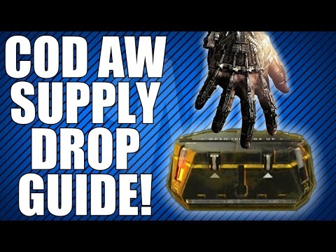 Advanced warfare supply drop guide what you can get loot guns