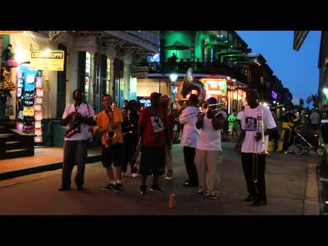 Music on Bourbon Street, New Orleans