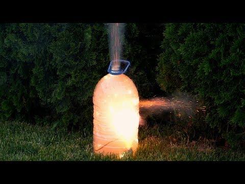 EXPERIMENT FIREWORKS VS FIRECRACKERS