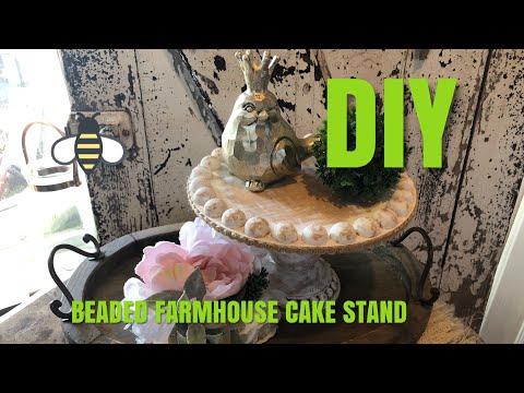 DIY-FARMHOUSE CAKE STAND