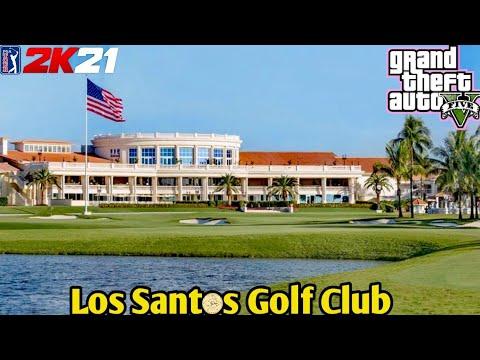 PGA TOUR 2K21 - Los Santos Golf Club (GTAV Course)  