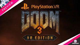 DOOM 3 VR EDITION | PSVR PlayStation VR Preview du jeu