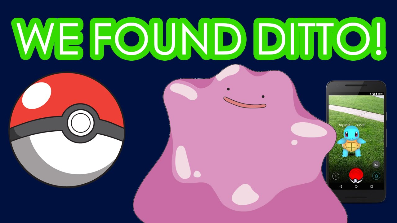 how to use a ditto pokemon