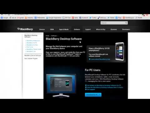 Cara Upgrade OS Blackberry dengan Mudah