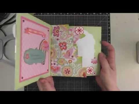 Stair Step Card Tutorial - YouTube
