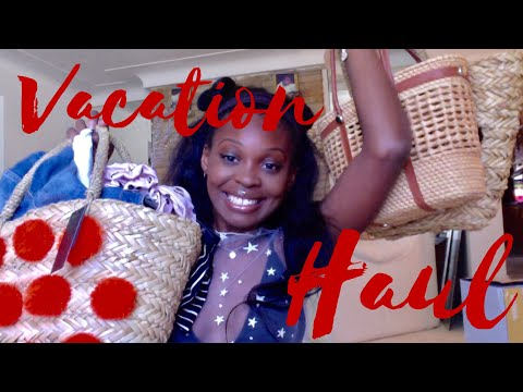 Vacation Haul | What I Bought In Europe
