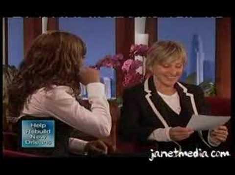 Janet on Ellen Degeneres Show 2008
