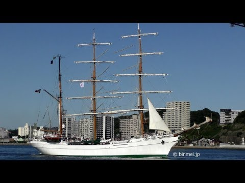 [FHD] ARM Cuauhtémoc BE01 - Mexican Navy sail training vesse