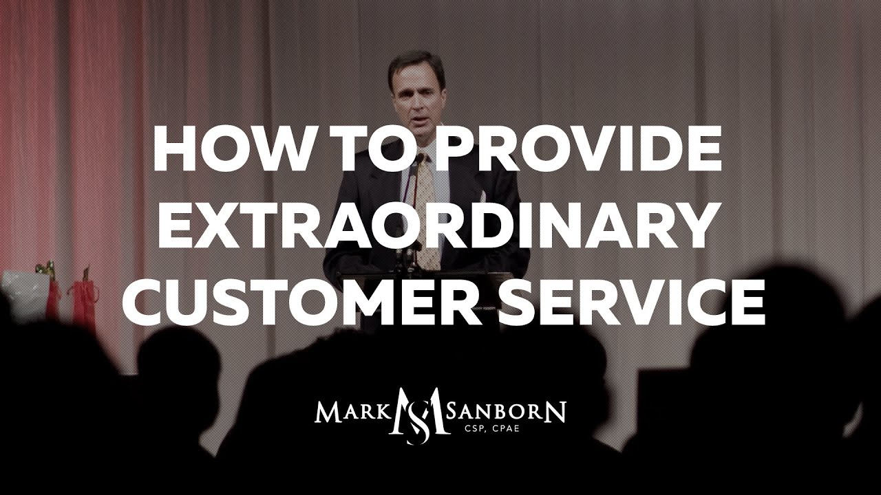 How To Provide Extraordinary Customer Service: The Fred Factor   YouTube  How Do You Define Excellent Customer Service