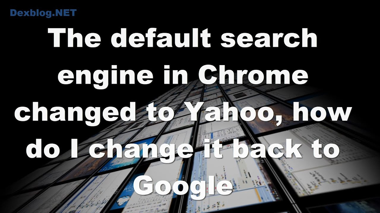 How to Use the Yahoo Search Engine