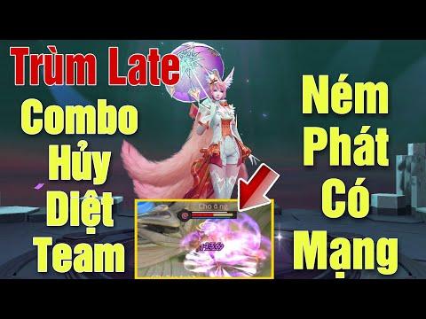 [Gcaothu] Combo hủy diệt của trùm mid late game - Liliana ném phát có luôn mạng cực thốn