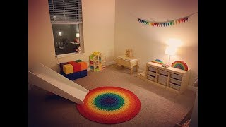 PLAYROOM TOUR *2019* ~Montessori inspired, educational, open ended, wooden toy collection~
