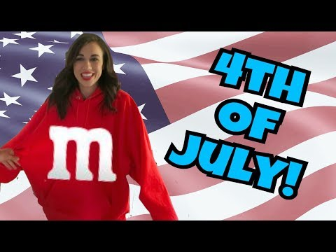 COLLEEN'S HALLOWEEN COSTUME ON 4th OF JULY!