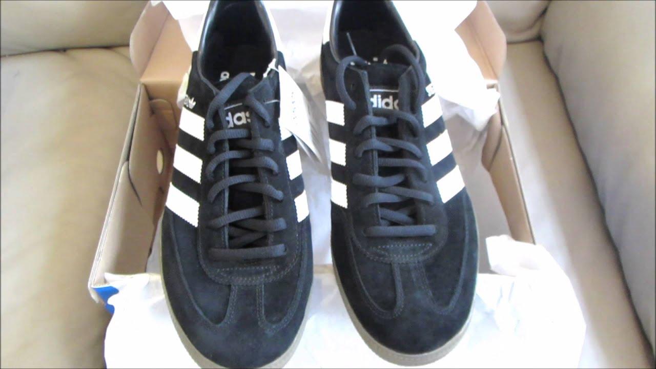 ... Adidas Originals Spezial Shoes Black Retro Sneakers Unboxing