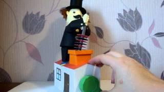 Papercraft Chimney Sweep - Ruszający się kominiarz
