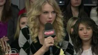 Download Taylor Swift On Etalk - Part 1 of 2 MP3 song and Music Video