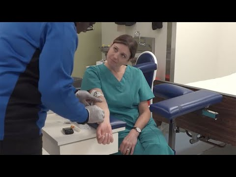 Athena Career Academy: Learning In the Phlebotomy Lab